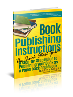 Book publishing instructions Quick-Start Guide