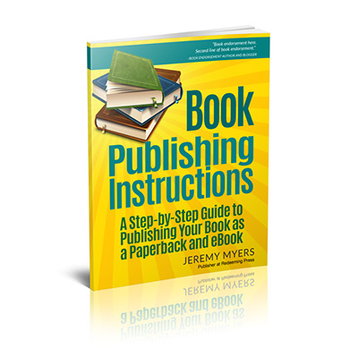 Book Publishing Instructions